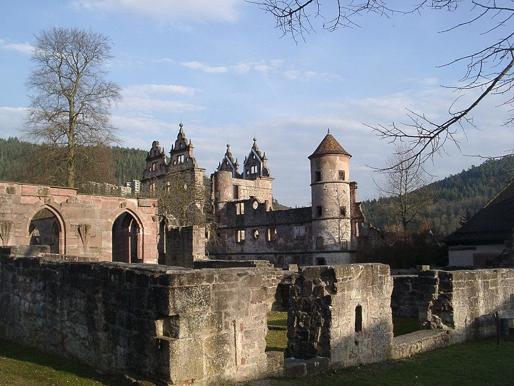 Hirsau Abbey. Photo: Wikimedia Commons