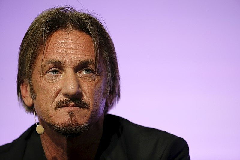 Actor and activist Sean Penn, delivers a speech during the World Climate Change Conference 2015 (COP21) at Le Bourget, near Paris, France, December 5, 2015. REUTERS/Stephane Mahe