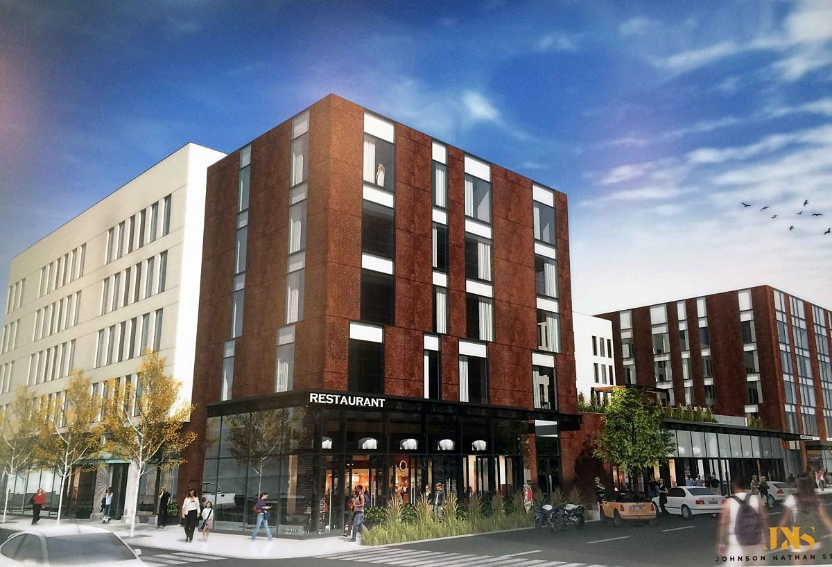 Homebase Has Proposed Construction Of A 30 Million Branded Hotel On E Front Street In Downtown Missoula Filling One The Visions Presented 2009