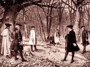 Alexander Hamilton and Aaron Burr Duel. Photo: Wikimedia Commons
