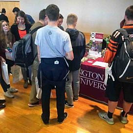 College fair gives universities a chance to engage with students