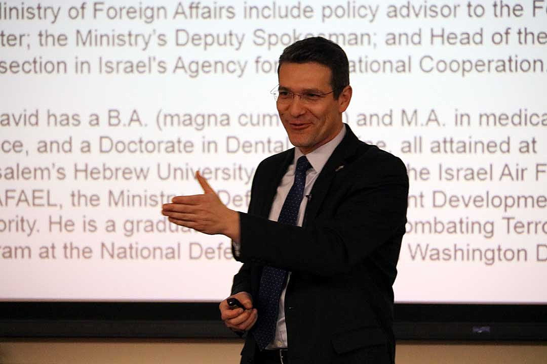 With Israeli consul general on hand, UM launches new business umbrella