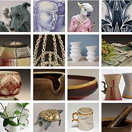 Radius Gallery opens second invitational ceramics exhibit