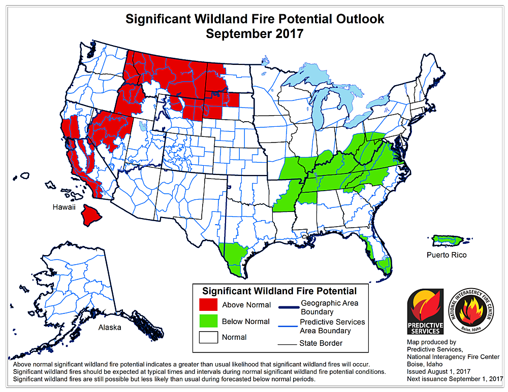 Current Fire Map Montana.Dubious Distinction Montana The Epicenter Of Nation S 2017 Summer