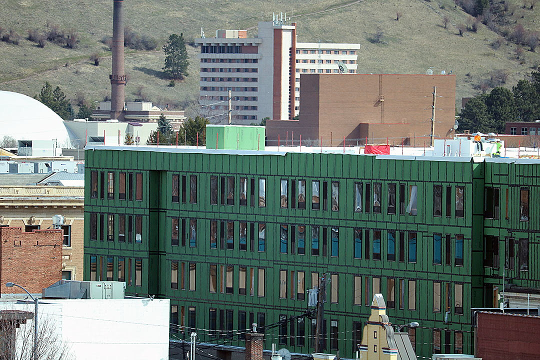 The Residence Inn By Marriott Or Mercantile Hotel Rises In Downtown Missoula And Remains Target A December Opening It Will Include 24 000 Square