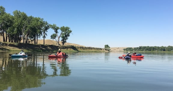 Floating the Missouri with the ghosts of Lewis and Clark ~ Missoula
