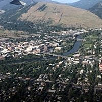 Miscellaneous Monday: Final approach and touchdown in Missoula