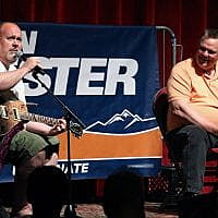 "Miscellaneous Monday: Mayor Engen sings ""Ode to a Farmer from Big Sandy"" to Sen. Tester"