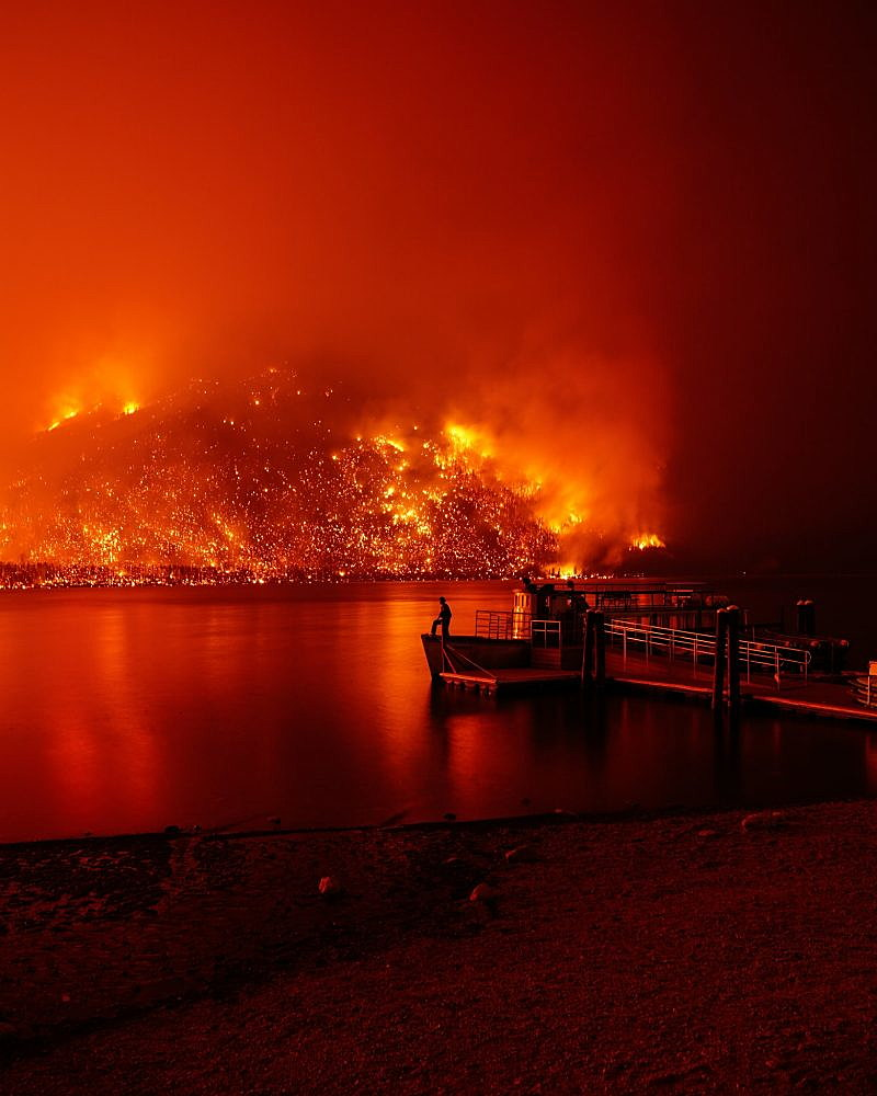 Lake Mcdonald Lodge >> Glacier S Lake Mcdonald Lodge Closed For Season Because Of Wildfire