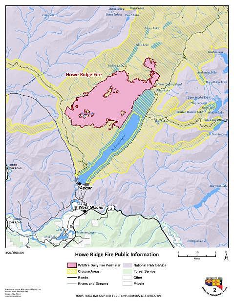 Glacier Park: Rain, snow buy firefighters time but won't put