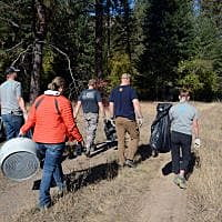 Public Lands Day: Volunteers help clean addition to Fish Creek wildlife area