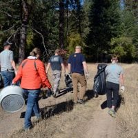 Pubic Lands Day: Volunteers help clean addition to Fish Creek wildlife area