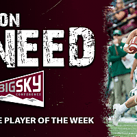 Griz football: Sneed named Big Sky offensive player of the week