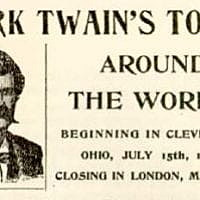Harmon's Histories: About that August when Mark Twain came to visit