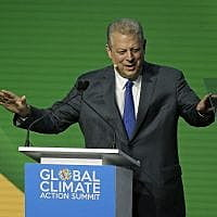 Gore likens climate change to the apocalypse at summit