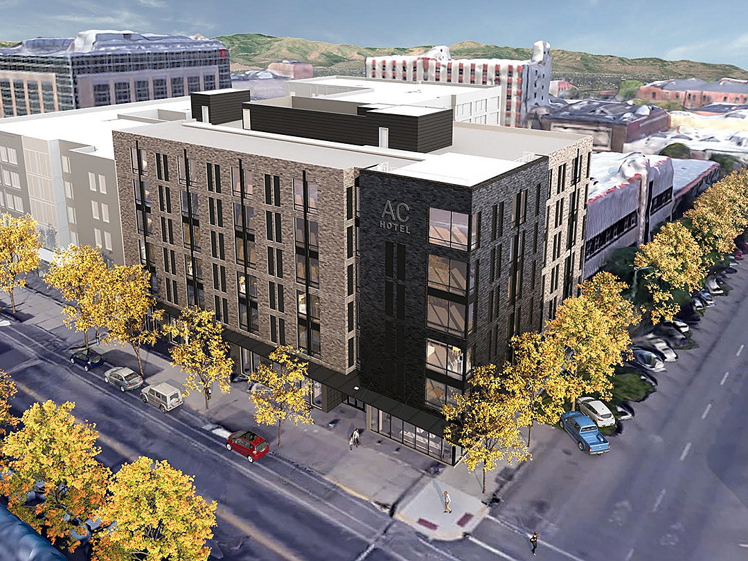 The New Ac Hotel By Marriott Will Stand On Corner Of Pattee And Main Streets In Downtown Missoula Project Is Valued At Roughly 21 Million