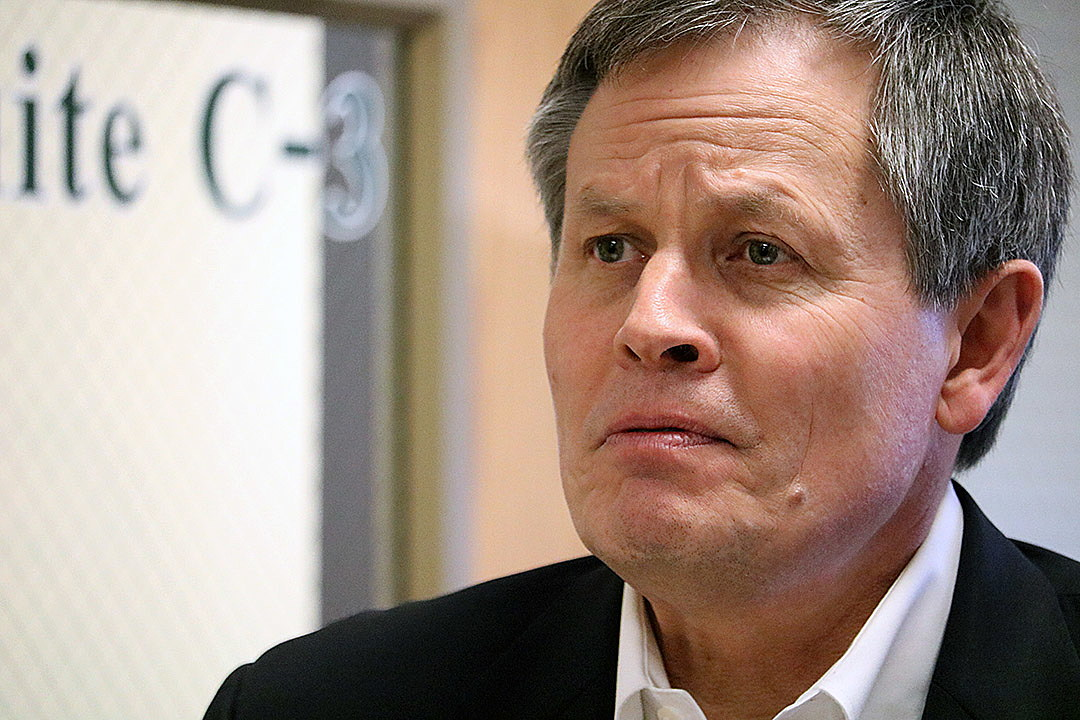 Daines stands with Trump amid Twitter attacks; Tester, challengers condemn remarks ~ Missoula Current