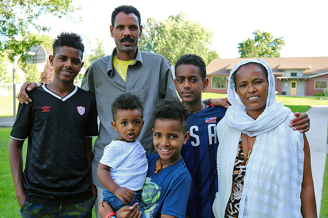 Settling in: Eritrean refugees at home in Missoula; new son born a U.S. citizen ~ Missoula Current