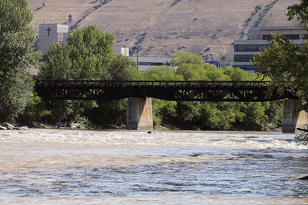 Heavy rains leave Clark Fork running rusty, muddy through Missoula ~ Missoula Current