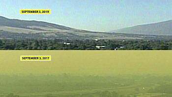 Western Montana air quality: what a difference 2 years makes