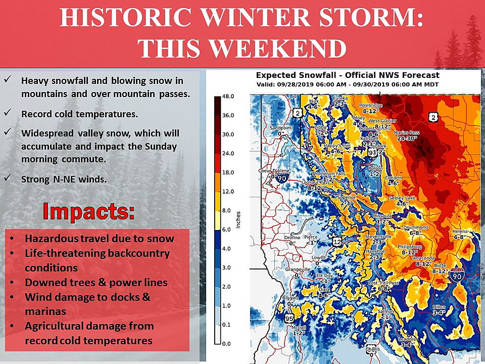 Storm could bring up to 50 inches of snow to West