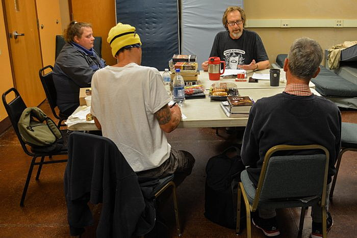 At Poverello Center, writing workshops offer inspiration, change, recovery ~ Missoula Current