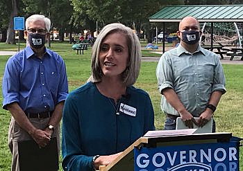 Student debt, early ed and teacher talent top Cooney's public education plan ~ Missoula Current