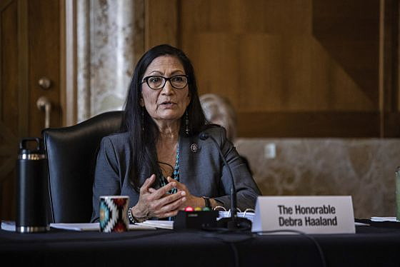 Haaland creates climate task force, pledges to address environmental injustices