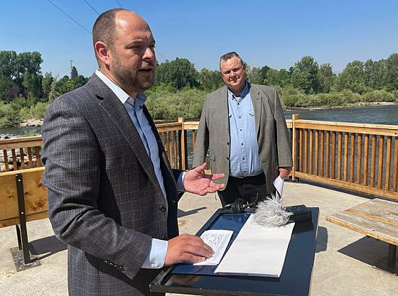 After reaching deal, Tester optimistic on passage of 'historic' infrastructure package